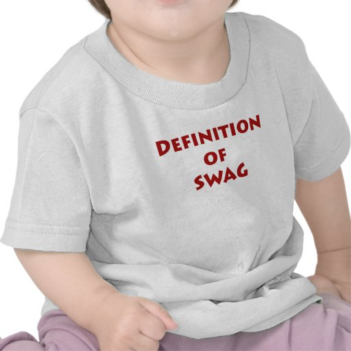 Definition of swag tshirt