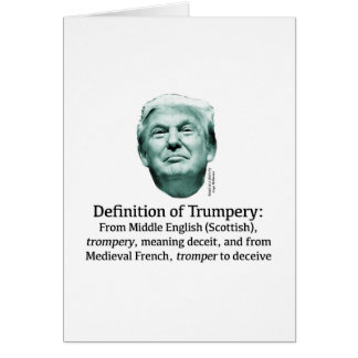 Definition of Trumpery Card