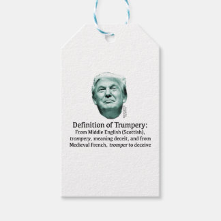 Definition of Trumpery Gift Tags