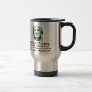 Definition of Trumpery Travel Mug