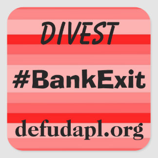 DEFUND DAPL sticker