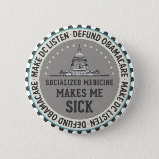 Defund Obamacare 2 Inch Round Button