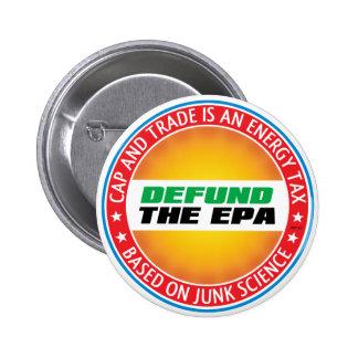 Defund The EPA 2 Inch Round Button