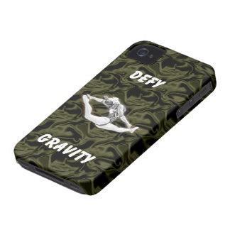 Defy Gravity Black Silk iPhone 4 Case-Mate Tough iPhone 4 Cases