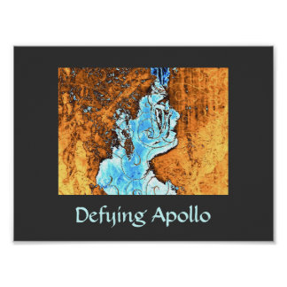 Defying Apollo Poster Print