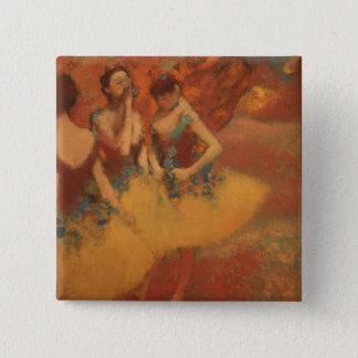 Degas Art 2 Inch Square Button