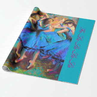 Degas Ballerina Christmas Gift Wrap, Brilliant! Wrapping Paper