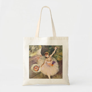Degas Ballerina with a Bouquet of Flowers Tote Bag