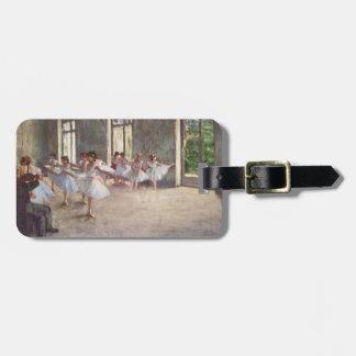 Degas' Ballet Rehearsal Luggage Tag