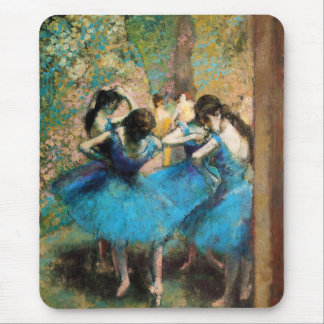Degas Blue Dancers Mouse Pad