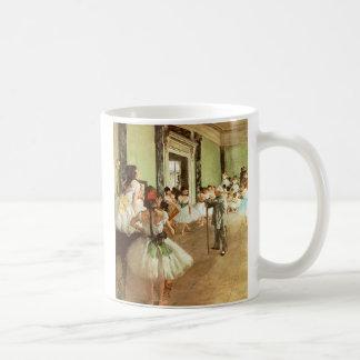 Degas Dancing Class Coffee Mug