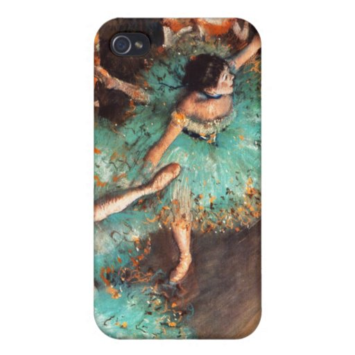 Degas Green Dancers iPhone 4 iPhone 4/4S Covers