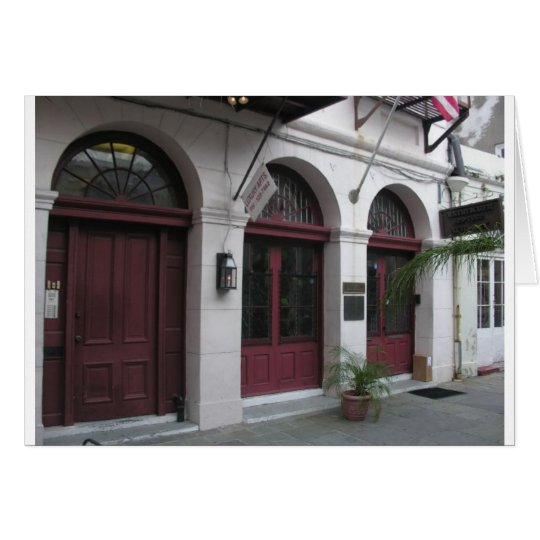 Degas House in Exchange Alley Card