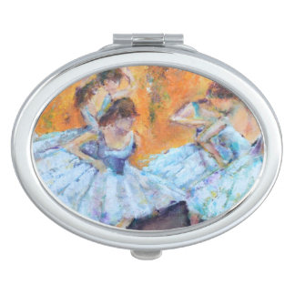 Degas Inspired compacted mirror Travel Mirrors