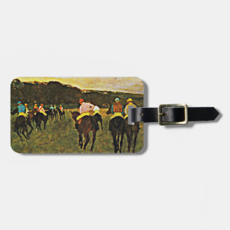 Degas - Races at Longchamp Luggage Tag