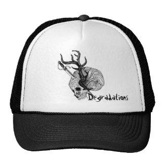 Degradations Antler Skull Trucker Hat