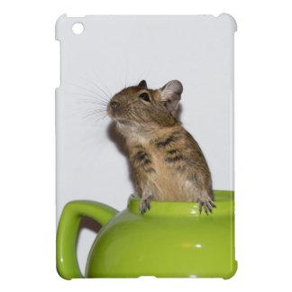 Degu in Green Teapot Cover For The iPad Mini