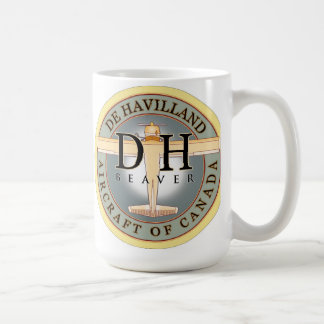 Dehavilland Beaver aircraft sign Coffee Mug