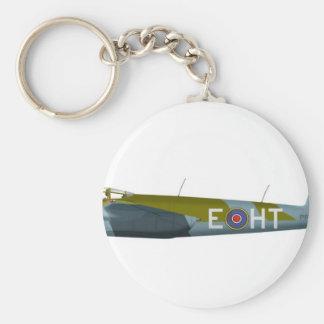 DeHavilland DH-98 Mosquito Basic Round Button Keychain