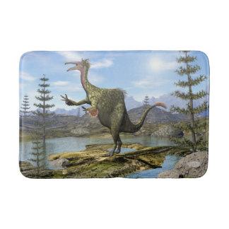 Deinocheirus dinosaur - 3D render Bath Mat