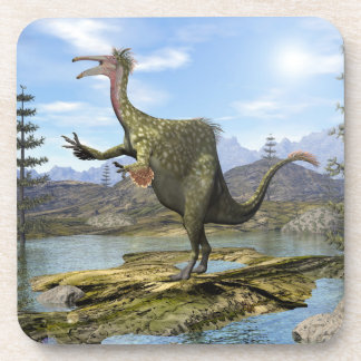 Deinocheirus dinosaur - 3D render Coaster