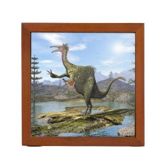Deinocheirus dinosaur - 3D render Desk Organizer