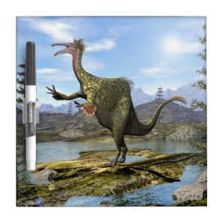 Deinocheirus dinosaur - 3D render Dry Erase Board
