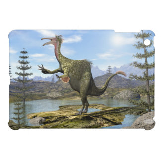 Deinocheirus dinosaur - 3D render iPad Mini Cover