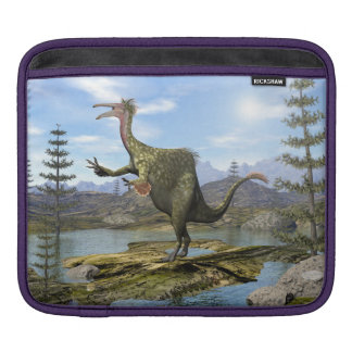 Deinocheirus dinosaur - 3D render iPad Sleeve
