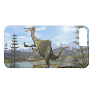 Deinocheirus dinosaur - 3D render iPhone 8 Plus/7 Plus Case