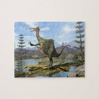 Deinocheirus dinosaur - 3D render Jigsaw Puzzle