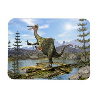 Deinocheirus dinosaur - 3D render Magnet