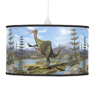 Deinocheirus dinosaur - 3D render Pendant Lamp