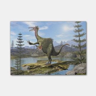 Deinocheirus dinosaur - 3D render Post-it Notes