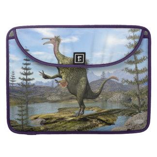 Deinocheirus dinosaur - 3D render Sleeve For MacBook Pro