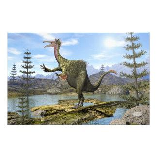 Deinocheirus dinosaur - 3D render Stationery