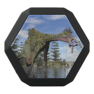 Deinocheirus dinosaur fishing - 3D render Black Bluetooth Speaker