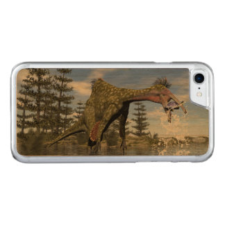 Deinocheirus dinosaur fishing - 3D render Carved iPhone 8/7 Case