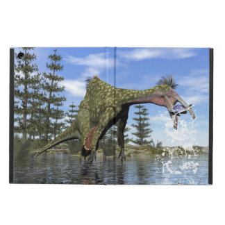 Deinocheirus dinosaur fishing - 3D render Case For iPad Air