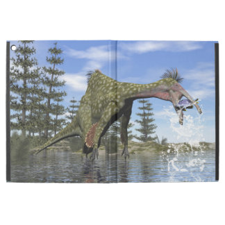 "Deinocheirus dinosaur fishing - 3D render iPad Pro 12.9"" Case"