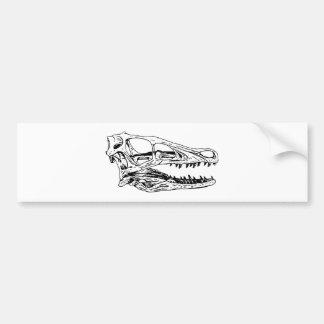 Deinonychus Bumper Sticker