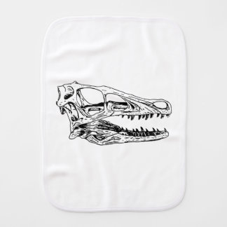 Deinonychus Burp Cloth