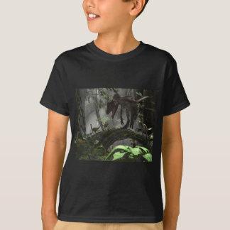 Deinonychus Dinosaur Chase T-Shirt
