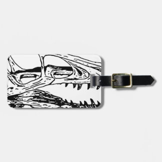 Deinonychus Luggage Tag