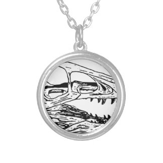 Deinonychus Silver Plated Necklace