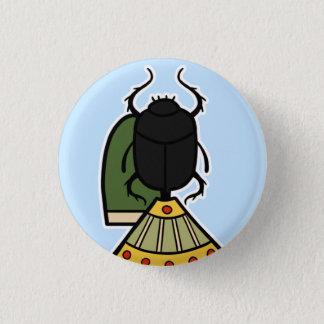 Deity :: Khepri 1 Inch Round Button