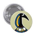 Deity :: Thoth 1 Inch Round Button