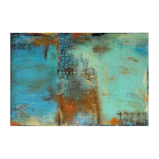 Deja Blue Acrylic Print