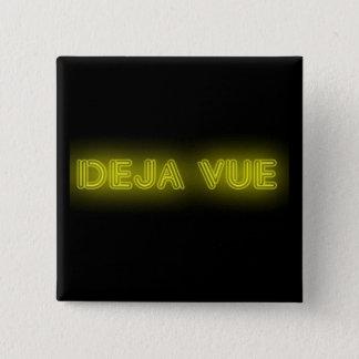 Deja Vue Badge 2 Inch Square Button