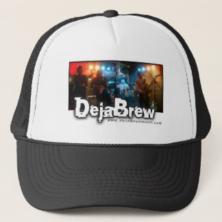 DejaBrew Band Logo Trucker Hat.. Trucker Hat